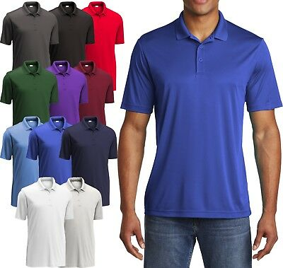 BIG MENS Polo Shirt Performance Dri Fit Moisture Wicking XL, 2XL 3XL, 4XL