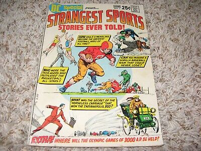 DC Special #7 (DC, 1970) – Strangest Sports Stories Ever Told! – VG+