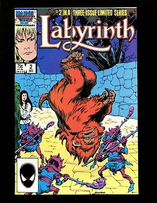 Labyrinth Limited Series #2 VF+ Buscema Tanghal David Bowie Movie Adaptation
