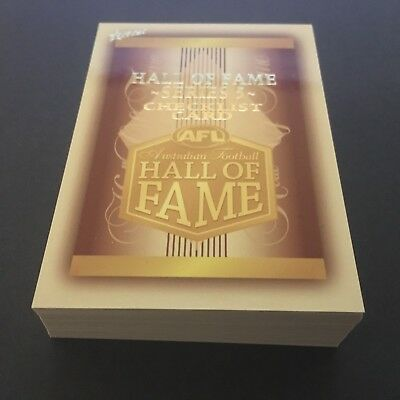 2018 Select Legacy - 34 'Hall of Fame Common' Card Set - Series 5