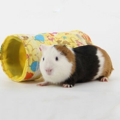Pet Tunnel Toy Guinea Pig Hamsters Hedgehog Channels Cute Printed Small Pet Cave