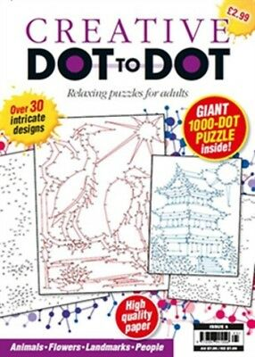Creative DOT to DOT Issue 5 Animals Flowers Landmarks People 30 Designs New