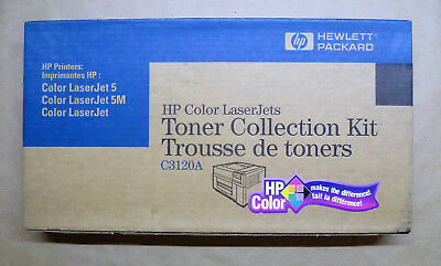 HP original C3120A Toner Collection Kit Color LaserJet Serien 5 5M --------- OVP