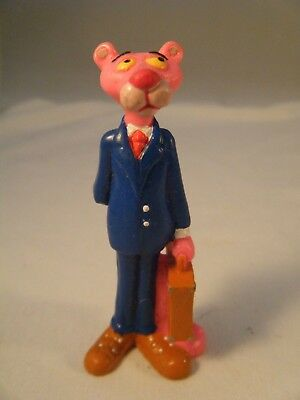 1989 UA Pictures PVC Pink Panther Figure Pink Panther Businessman w/Briefcase