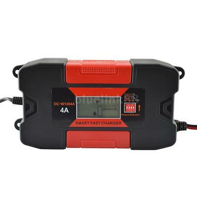4A 12V Auo Car Smart RoHs Battery Charger With CE K7E7