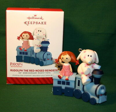 / Hallmark  Ornament 2014 Rudolph The Red-Nosed Reindeer---50Th Anniversary