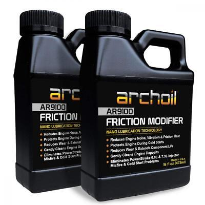 Archoil AR9100 Friction Modifier VALUE PACK - TWO 16oz Bottles of for...