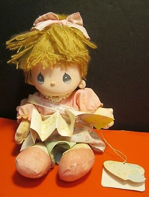 "vintage 1990 PRECIOUS MOMENTS ""Mother's Day Edition"" DOLL w/ TAG ~ nice!"