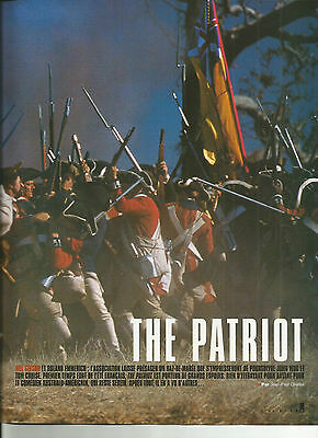 The Patriot - Emmerich - Mel Gibson / 2000 Article Presse Reportage
