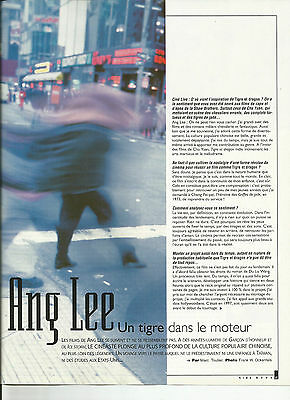 Ang Lee - Interview - Tigre Et Dragon / 2000 Article Presse Reportage