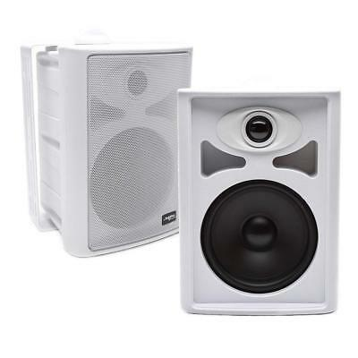 "Skar Audio AWX65PW 6.5"" 2-Way All-Weather Indoor/Outdoor Speakers - White (Pair)"