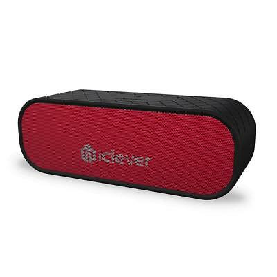 iClever 20W Portable Bluetooth Speakers (Two Subwoffers), Water Resistant,...