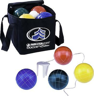 Park & Sun Sports Bocce Ball Set with Deluxe Carrying Bag: Tournament Elite, 100