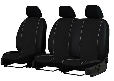 Citroen Dispatch 2+1 Eco Leather Universal Front Seat Covers