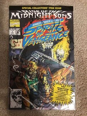 Marvel Rise Of The Midnight Sons Spirits Of Vengeance 1 * Sealed Polybag *