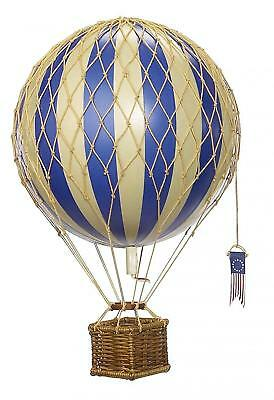 Travels Light Hot Air Balloon (Blue) - Authentic Models - Decorations