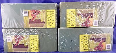 4 x Flower Foam Brick Wet Floral Arrangement Display Craft Green Dry Block Water