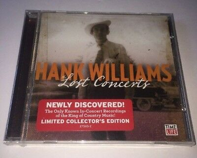 The Lost Concerts [Limited Collector's Edition] Hank Williams CD Time Life *NEW*