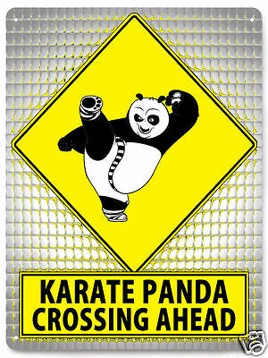PANDA metal sign kids funny great gift wall decor 535