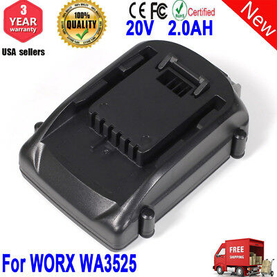 Battery for WORX WA3525 WA3520 WG545 WG155 WG160 WG156 WG150 2.0AH 20V WG170 US