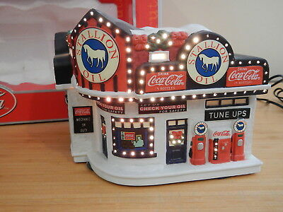 Town Square Collection - Stallion Oil Gas Station - Coca Cola