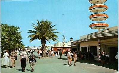 NEW ORLEANS, LA Louisiana  Ponchartrain Beach AMUSEMENT PARK   c1950s   Postcard