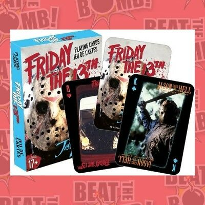 Friday The 13th Playing Cards  - BRAND NEW