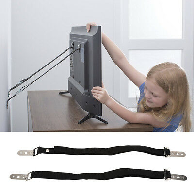 Adjustable Nylon Anti-tip Baby Safety Wall Strap for Furniture Cabinet Flat TV