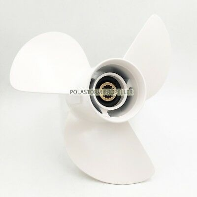 For Yamaha 60-130HP Aluminum Outboard Propeller 13 5/8X13Pitch 6E5-45949-00-EL