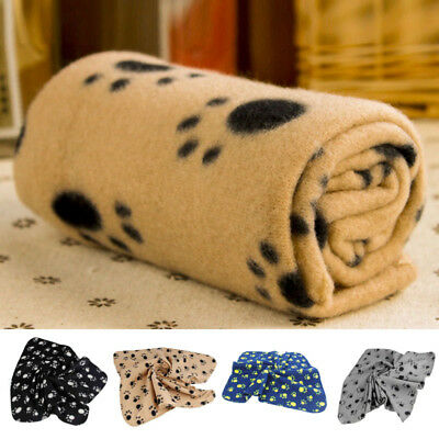 Animal Chien Chat Couverture Tapis Polaire Souple Confortable Lit Sofa Coussinet