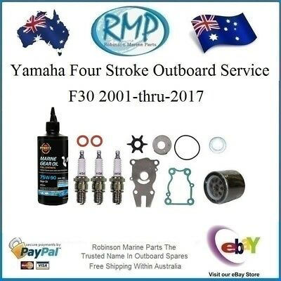 1 x Brand New RMP Yamaha 4/Stroke Outboard Minor Service Kit F30