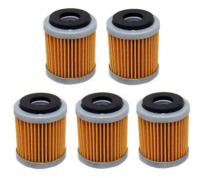 Factory Spec brand Oil Filters - 5 Pack - Yamaha WR250F YZ250F WR450F YZ450F