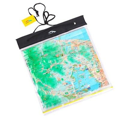 PVC Clear Waterproof Camping Hiking Transparent Map Case Holder