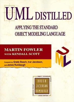 UML Distilled: Applying the Standard Object Modelling Language (Object Technolo
