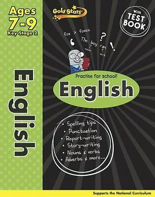 Gold Stars KS2 English Workbook Age 7-9 (Gold Stars Ks2 Workbooks) By Gold Star