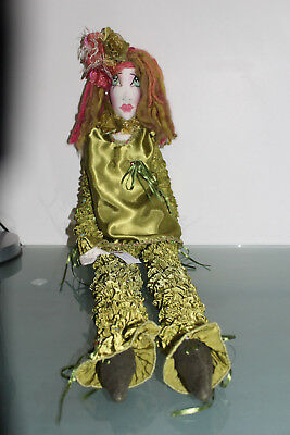 OOAK Cloth dolls X 4