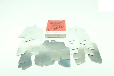 Box Of 20 New Precision Brand 42305 Stainless Slotted Shim 3x3in .001