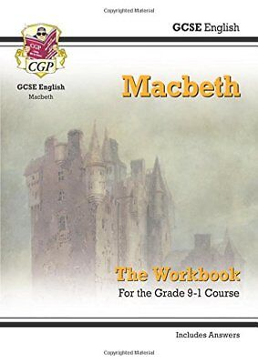 New Grade 9-1 GCSE English Shakespeare - Macbeth Workbook (includes Answers) (C