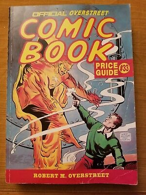 Official Overstreet Comic Book Price Guide #33
