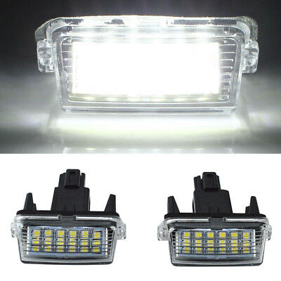 New Car LED License Number Plate Light Custom For Toyota Camry YARIS/EZ/VIOS 2pc