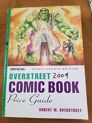 Official 34th edition-Overstreet 2004 comic book price guide