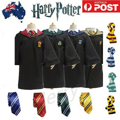Halloween Adult Harry Potter Gryffindor Robe Fancy Dress Party Cosplay Costume