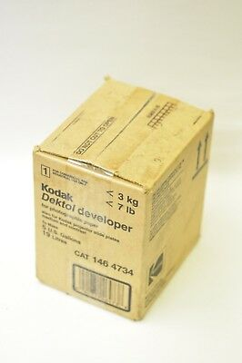 Kodak Dektol developer to make 5 gallon 146-4734 new old stock no returns