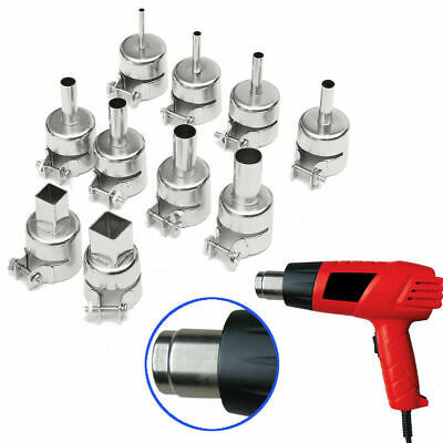 1/8pcs Heat Gun Nozzles Welding Heat Resistant 850/852 Hot Air Soldering Station
