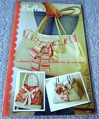 FIG TREE & Co - BELLA - LOVELY HANDBAG PATTERN WITH BOWS - Joanna Figuera - USA