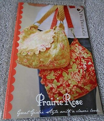 FIG TREE & Co - PRAIRE ROSE - CLASSIC GIRLIE STYLE BAGS - Joanna Figuera - USA