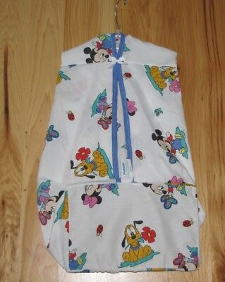 Vintage Disney Babies Mickey Mouse Minnie Pluto Ladybug Butterfly Diaper Stacker