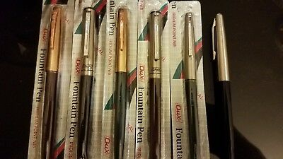vintage fountain pen lot of 5