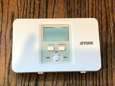 York THE Series Programmable HVAC Thermostat S1-THEC11P5Y - NEW!