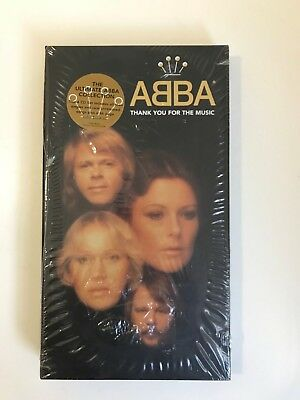 Abba 1994 still sealed promo sticker Thank you for the Music 4 cd collection